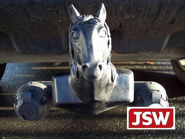 Novelty Tow Ball Cover Horses Head Colour Choice
