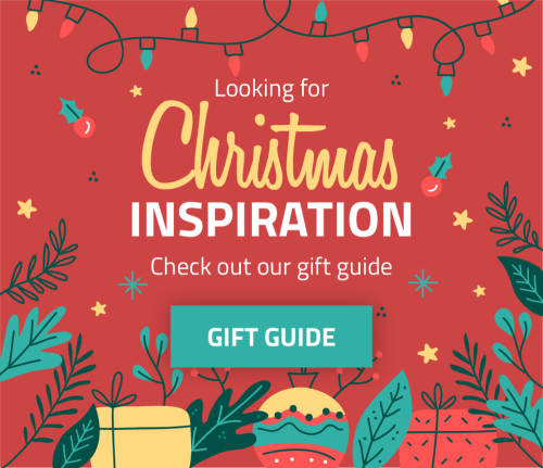Christmas Inspiration, check out our gift guide